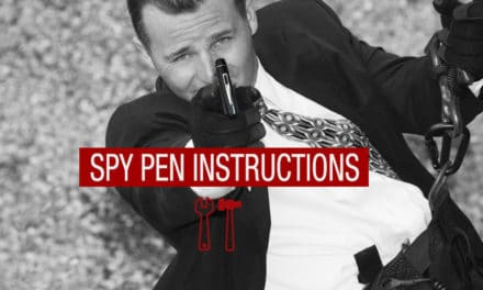 Spy Pen Instructions, How To Use One and When To Use One