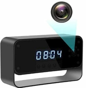 Top 5+ Hidden Camera Clocks of 2019 (Affordable) | GadgetsSpy
