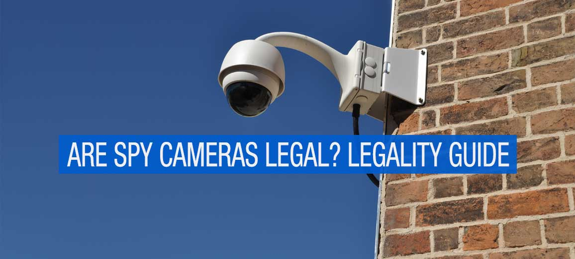 Legalities of Spy Cameras and Hidden Cameras in the US