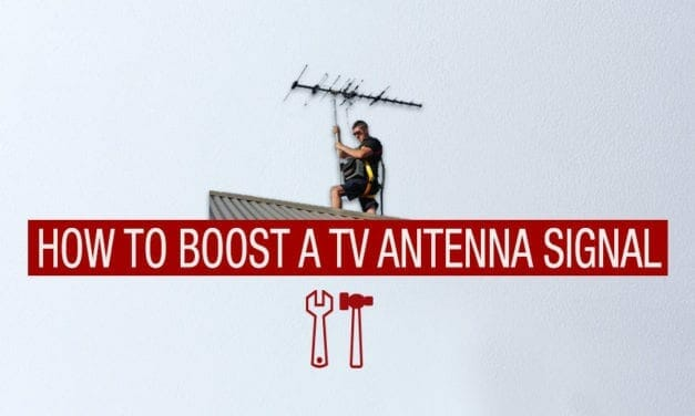 How to Boost a Outdoor TV Antenna Signal