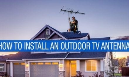 How To Install An Outdoor Tv Antenna