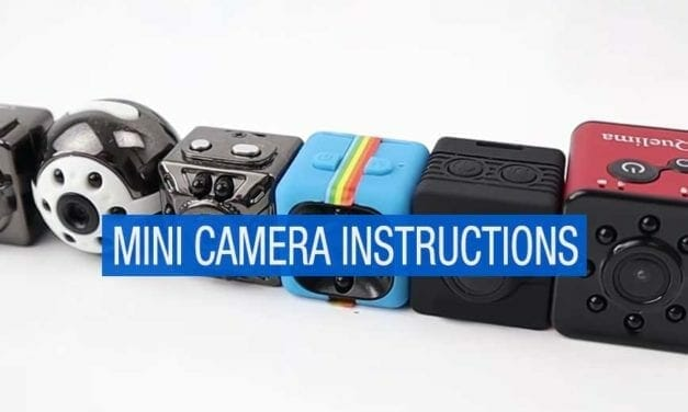 Mini Camera Instructions – How to Use Guide