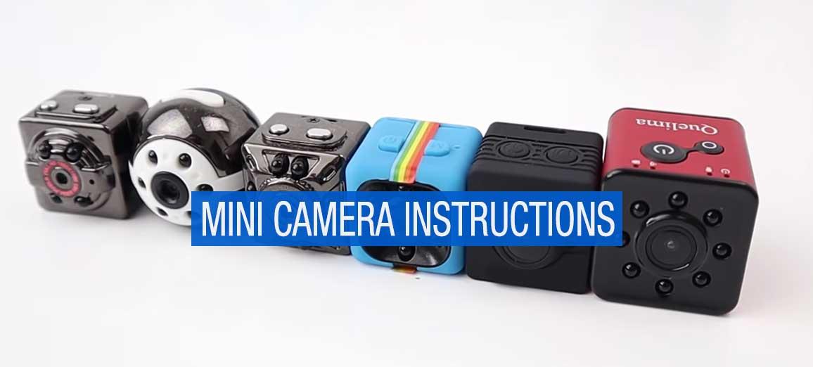 How to Use a Mini Camera, Instructions & guide | GadgetsSpy
