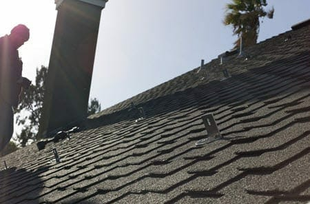 roof bracket for for outdoor tv antenna