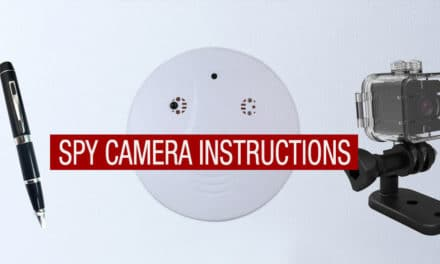 Spy Camera Instructions
