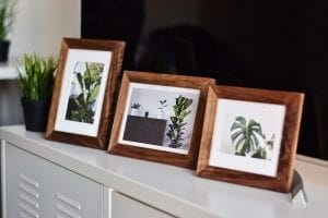 Behind Picture Frame