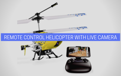 Remote Control Helicopter with Live Camera