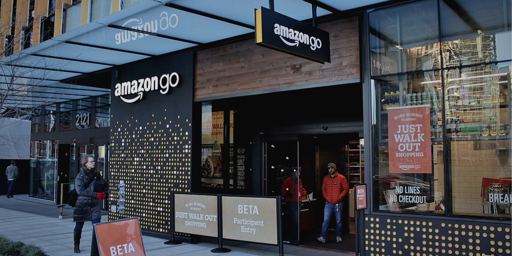 an amazon go physical store