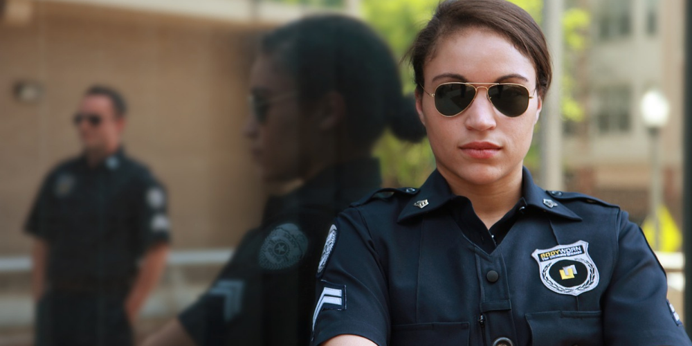 a woman police officer