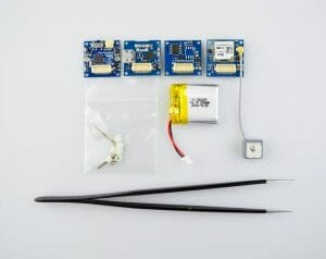 assembling the hardware for the GPS