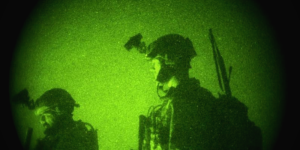 military and night vision goggles