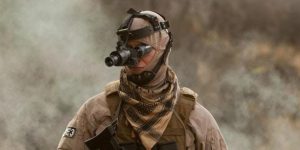 military man in uniform and goggle