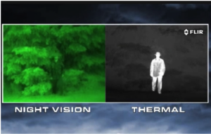 night and thermal vision
