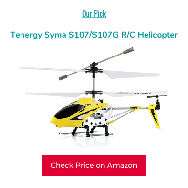 Tenergy Syma S107/S107G R/C Helicopter